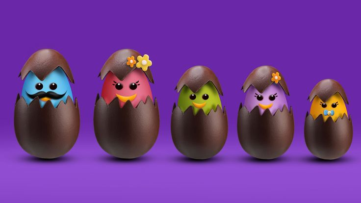 The Finger Family Easter Chocolate Egg Family Nursery Rhyme | Easter Finger Family Songs