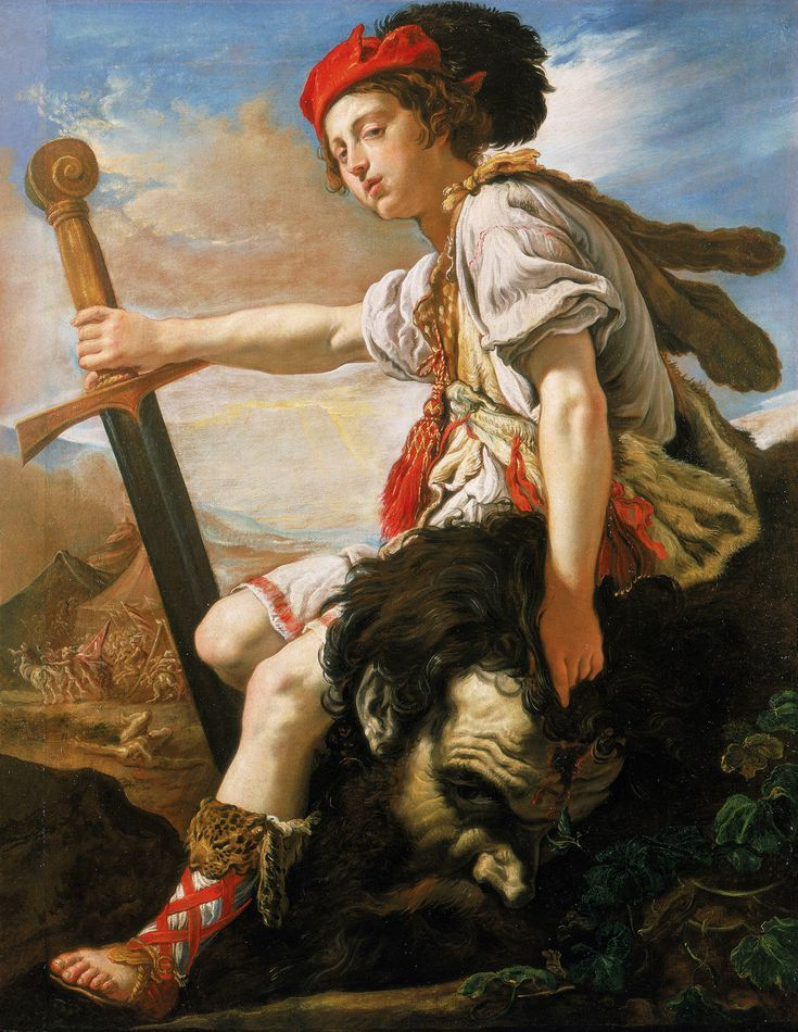 The Art of Italy in the Royal Collection - The Baroque: David with the Head of Goliath, ca. 1620