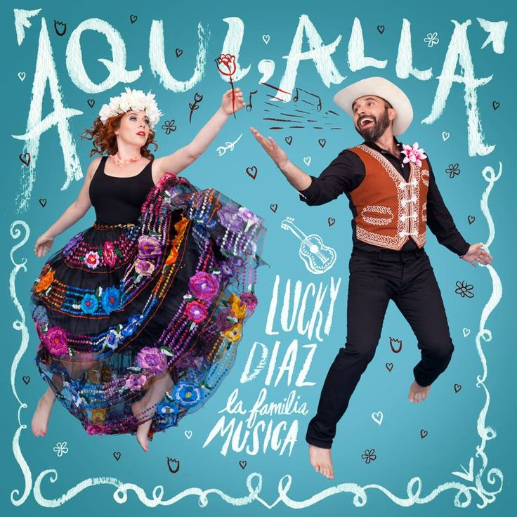 Whether you're celebrating Cinco de Mayo or not, this festive, fiesta-ready Aqui, Alla by Lucky Diaz and the Family Jam Band will get your kids grooving.