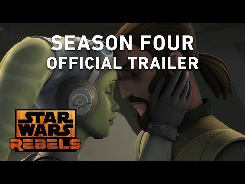 Star Wars Rebels Season 4 Trailer. This was just released like ten minutes ago what the heck XD it's the final season