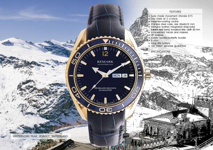Swiss made REMARK watches!