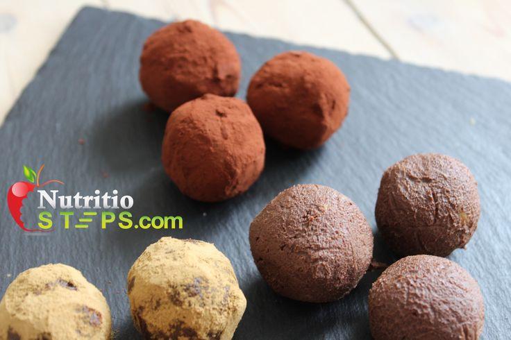 THREE INGREDIENT DARK CHOCOLATE AND LIQUORICE AVOCADO TRUFFLE BALLS