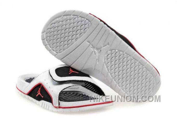 http://www.nikeunion.com/jordan-flip-flops-mens-black-white-red-343104-161-free-shipping.html JORDAN FLIP FLOPS MENS BLACK WHITE RED 343104 161 FREE SHIPPING : $40.30