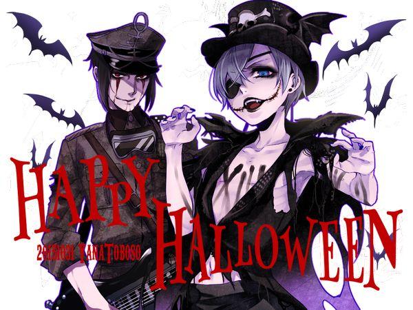 Happy Halloween!  Illustration by Yana Toboso