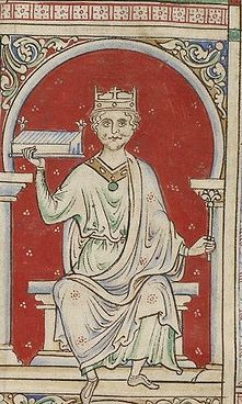 William II Rufus (1056 - 1100). Third son of King William I and Queen Matilda of Flanders. His father gave England in his will. He died in a hunting accident and never married.
