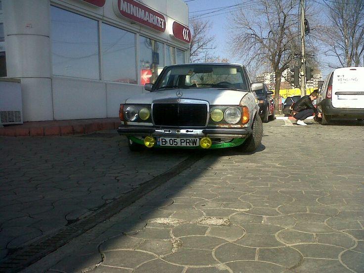 W123 rat