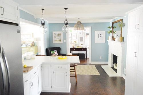 17 best images about wall color ideas on pinterest - Living room and kitchen color schemes ...