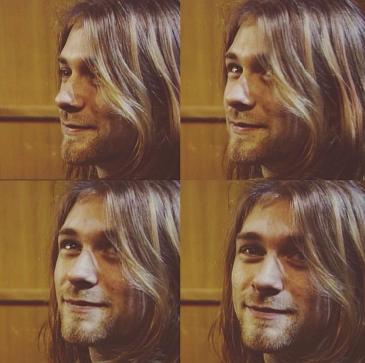 Kurt Cobain, such a beautiful man