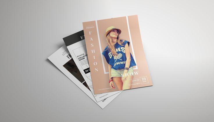 """查看此 @Behance 项目:""""Flyer Fashion Show""""https://www.behance.net/gallery/44361709/Flyer-Fashion-Show"""
