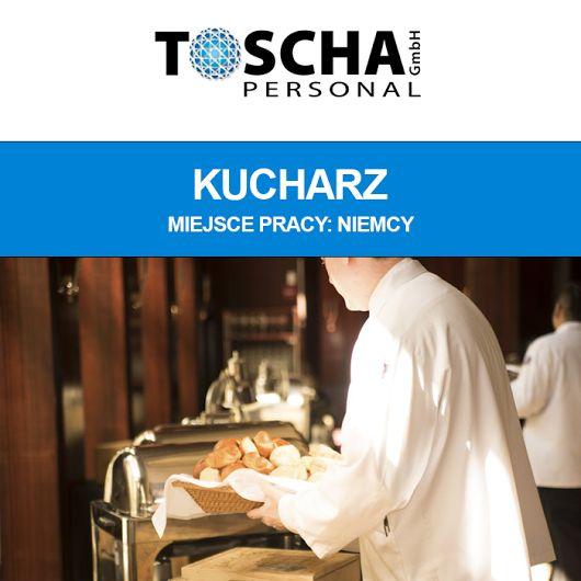Dziś polecamy ofertę pracy:   Kucharz Miejsce pracy: Augsburg (Niemcy)