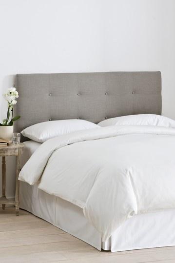 Headbord - Linen Grey