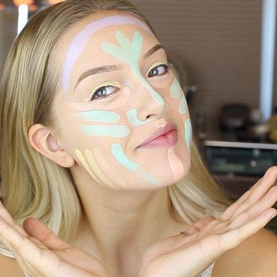 La técnica del color-correcting es justo lo que necesitas para una piel perfecta. Conoce cómo usar los correctores de maquillaje.