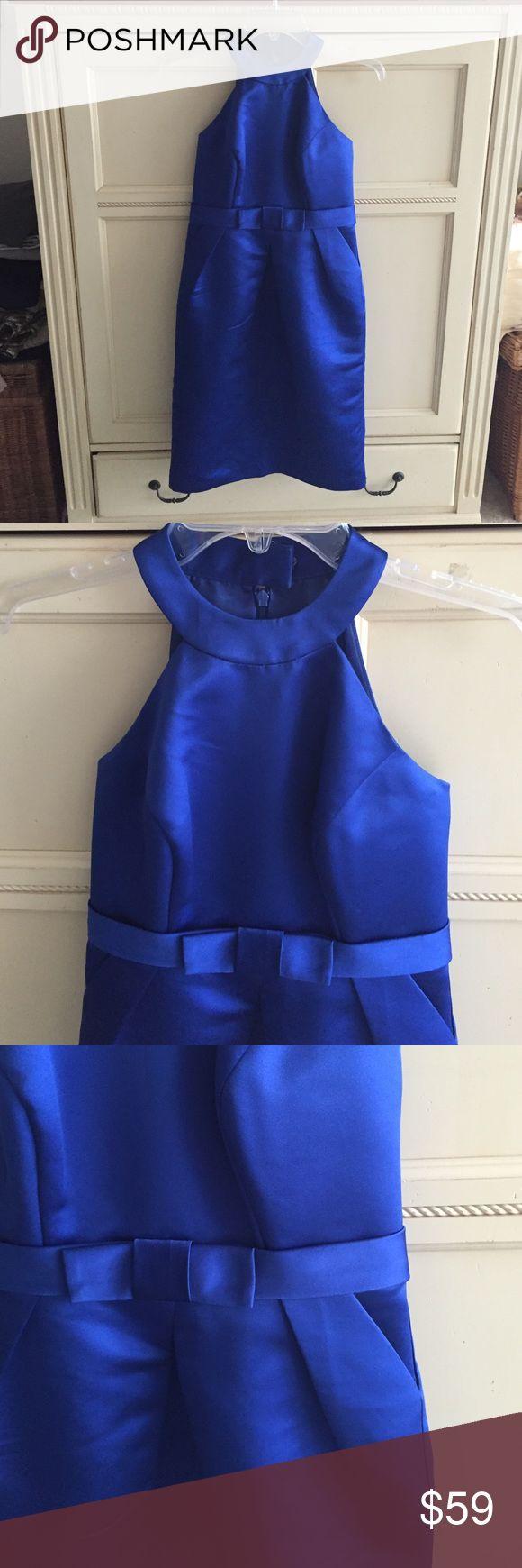 Priscilla of Boston royal blue dress Priscilla of Boston royal blue dress with bow. The perfect party ensemble !!! NWOT priscilla of boston Dresses