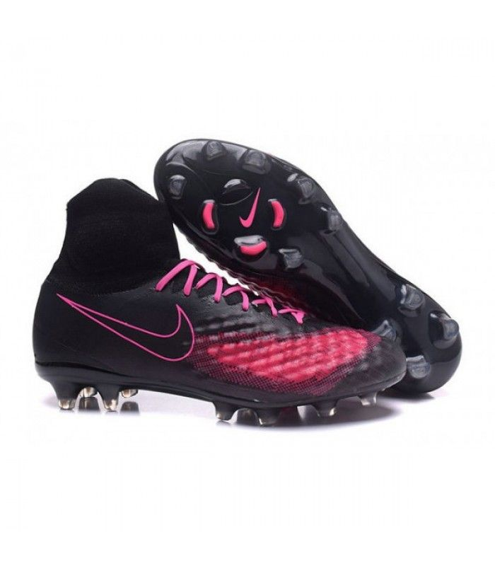 Acheter Nike Magista Obra II FG Chaussures de football Noir Rose pas cher  en ligne 123