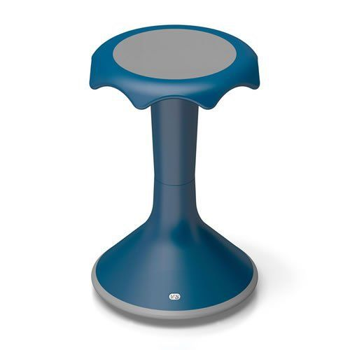 """The 20"""" HOKKI is an ergonomic stool that transforms stationary sitting into an activity, ideal for brainstorming sessions and other active sitting environments. You're moving, even when you seem to be sitting still. The convex base allows for movement in all directions, which is... more details available at https://furniture.bestselleroutlets.com/children-furniture/chairs-seats/stools/product-review-for-hokki-stool-20-blue/"""