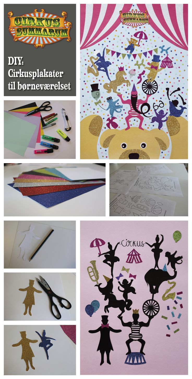 DIY Cirkus Poster. Læs mere på www.cirkussummarum.dk  DIY'en er lavet af kreative @heidikorsgaard