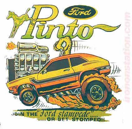 FORD PINTO Hot Rod race cars trucks Vintage tee shirt Iron On Authenti – Irononstation, vintage 70s t-shirt iron-ons