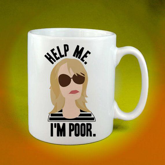 Bridesmaids Help Me I'm Poor Coffee Cup Mug by Tenicmug on Etsy