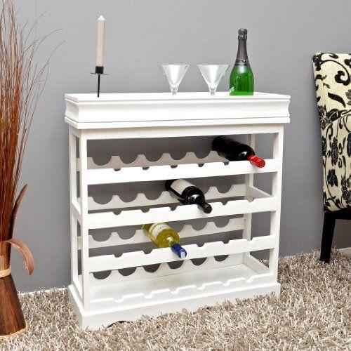 Weinregal Weiß für 24 Flaschen Flaschenregal weißes Holz Wein Regal Board ts-ideen http://www.amazon.de/dp/B00FF3H92E/ref=cm_sw_r_pi_dp_I-Uuwb0E85E91
