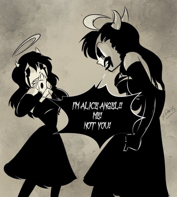 Susie's Alice Versus Allison's Alice, I Think (Bendy And