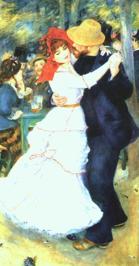 Ballo a Bougival - 1882-1883, Olio su tela, Parigi, Musée d'Orsay
