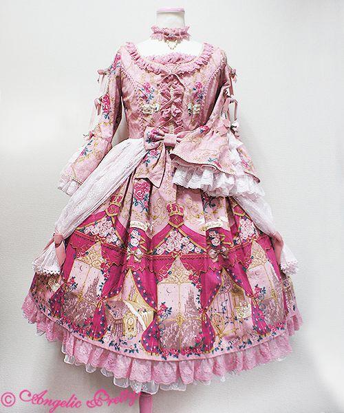 Angelic Pretty True Rose Story Dress