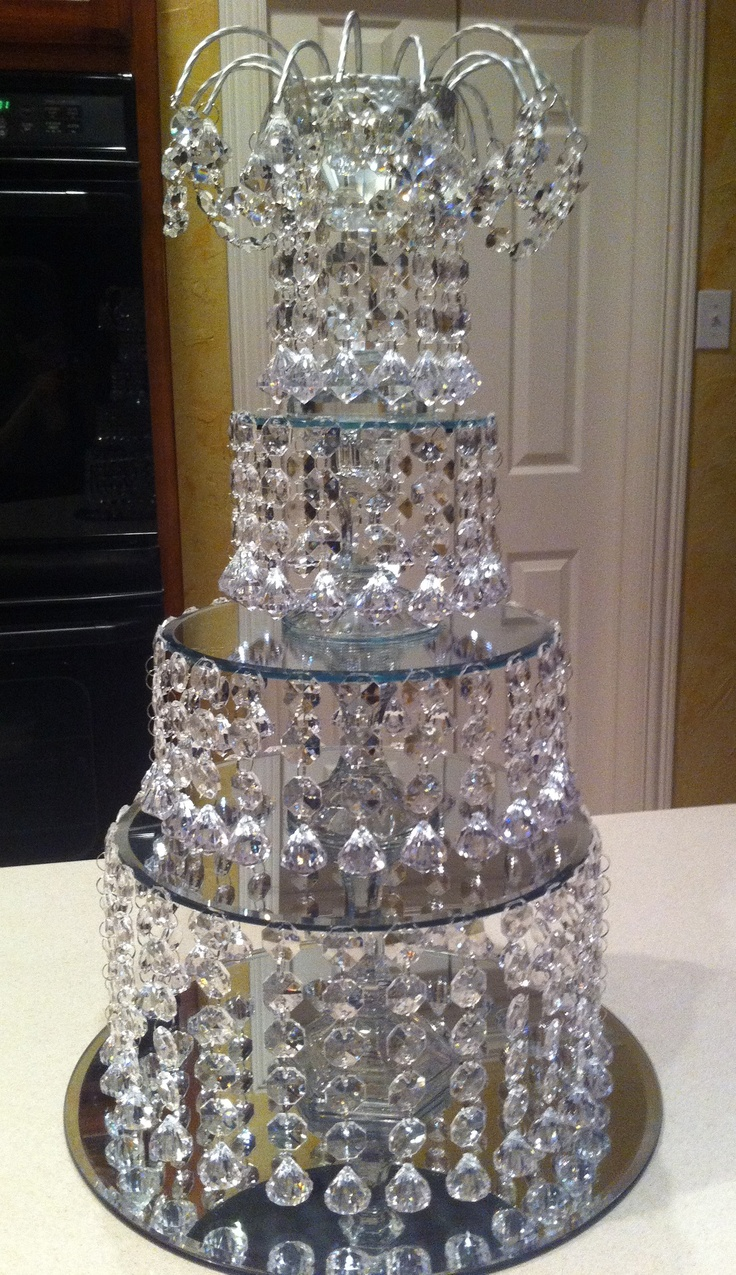 diy crystal wedding centerpiece party labyrinth movie pinterest crystal wedding. Black Bedroom Furniture Sets. Home Design Ideas