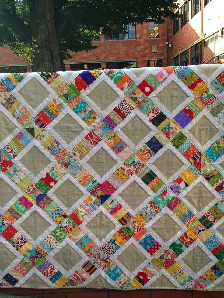 how to make corners on a quilt