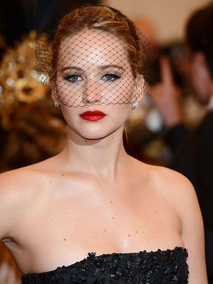 Jennifer Lawrence attending the 2013 Metropolitan Museum of Art's Costume Institute Gala in New York City | allure.com