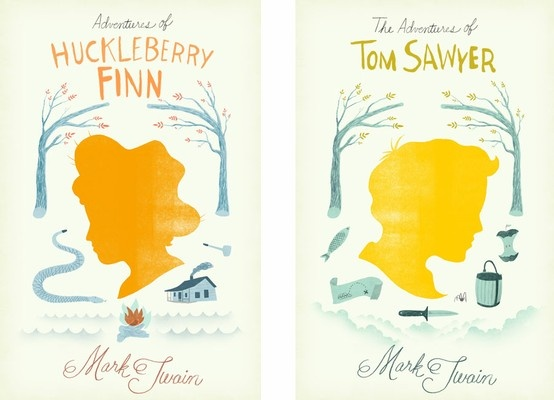 Book Cover Design Silhouette : Images about tom sawyer and huckleberry finn