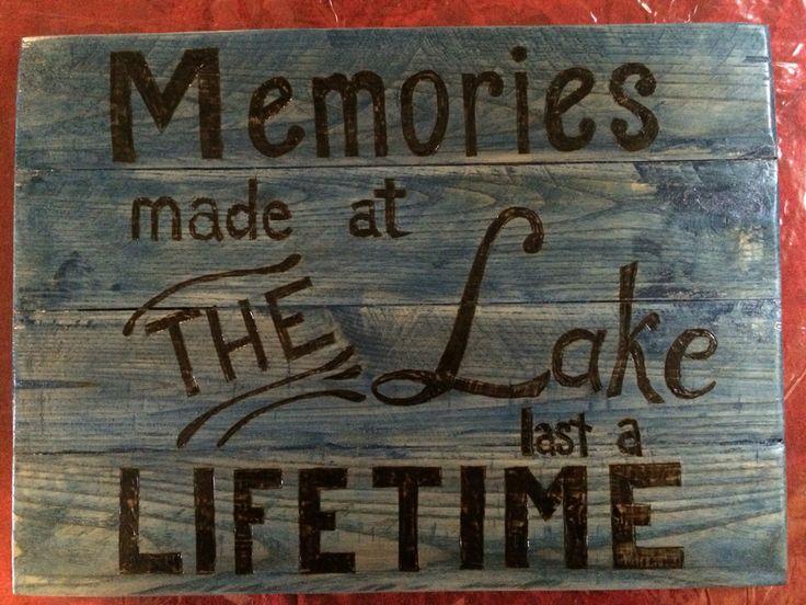 Lake sign                                                                                                                                                     More