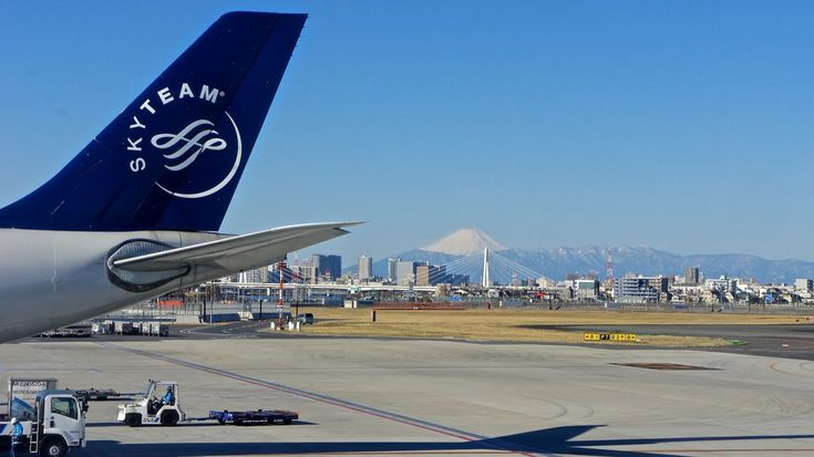 Mount Fuji From Haneda Airport Observation Deck