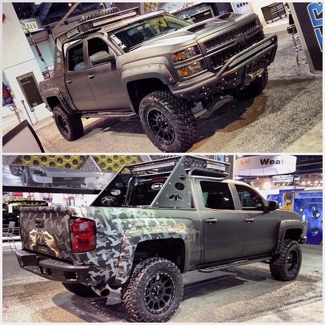 ADD Offroad provided the Front & Rear Bumpers, Side Steps and custom Chase Rack for Willie from the TV Show Duck Dynasty. He loved it!