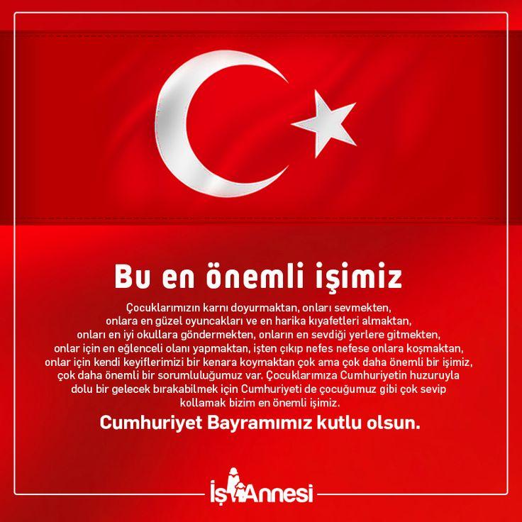 29 Ekim Cumhuriyet Bayramı kutlu olsun.