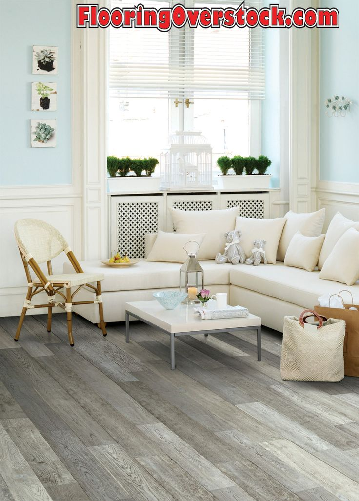 Grey Hardwood Floor Grey is very chic & trendy now for Hardwood Flooring. On Sale now Call FlooringOverstock.com for pricing.