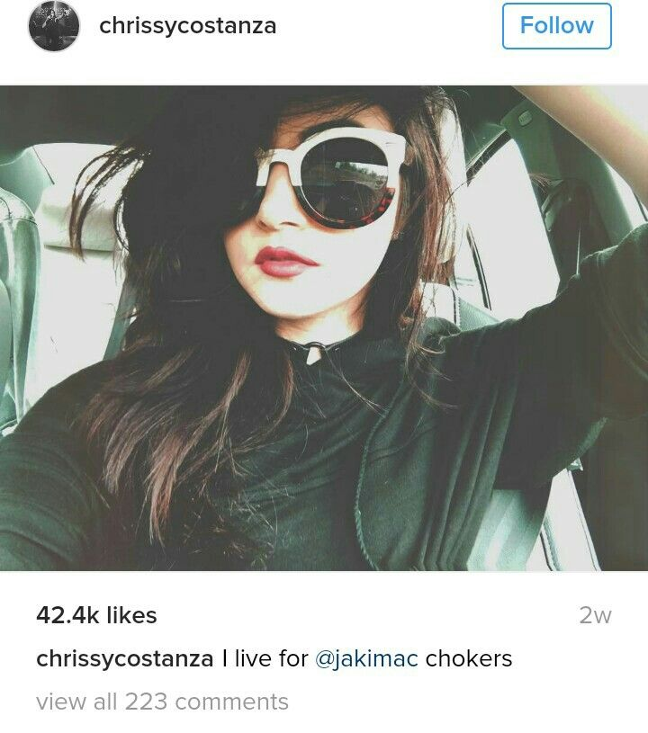 Crissy costanza instagram