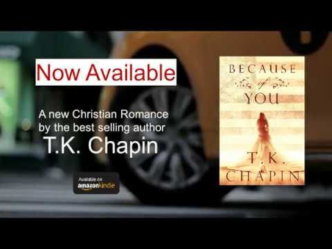 "New Christian Romance Novel - ""Because Of You"""