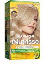 121 - AZAHAR Rubio Extra Claro Cenizo - Nutrisse Coloríssimos - Garnier