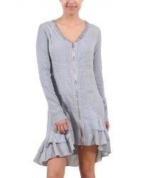 RUFFLE Linen Dress/Tunic from INIZIO