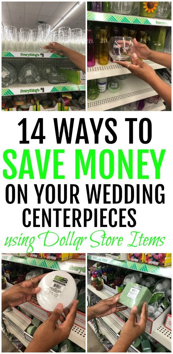 14 Dollar Tree Money-Saving Products For Your Wedding Centerpieces – Carla Perry