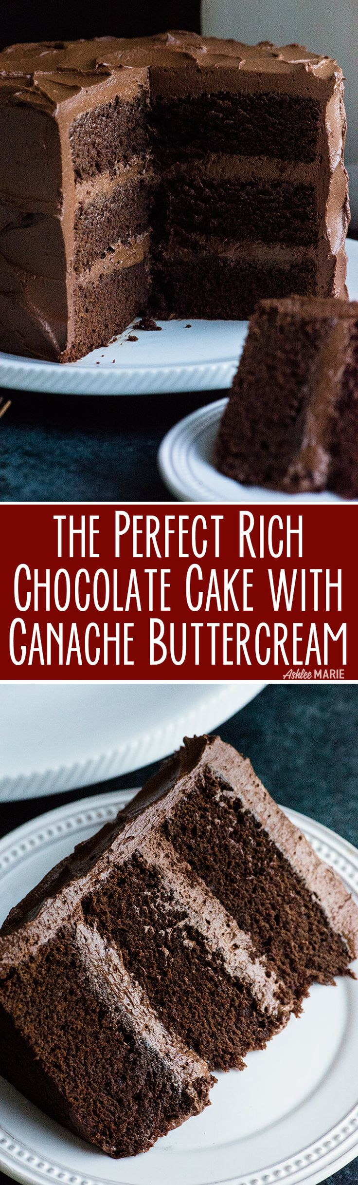 A rich and decadent chocolate cake recipe with video tutorial. This cake tastes amazing AND is dense enough for carving and building 3D cakes.