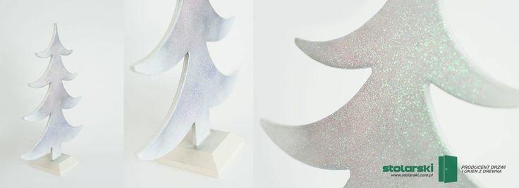 Drewniana choinka.  www.stolarski.com.pl #drzwi #drzwidrewniane #dekoracje #ChristmasTree