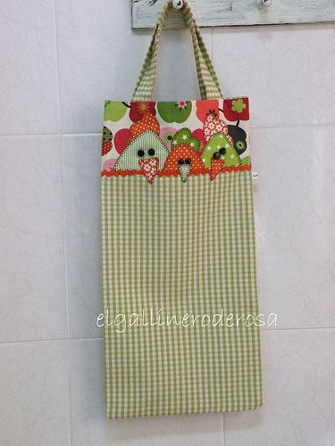 2e7ce5374 BOLSA DE TELA PARA EL PAN | Costura | Bread bags, Sewing Projects y ...