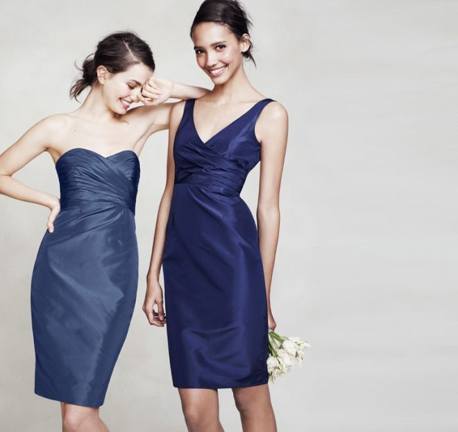 J.Crew bridesmaids dresses