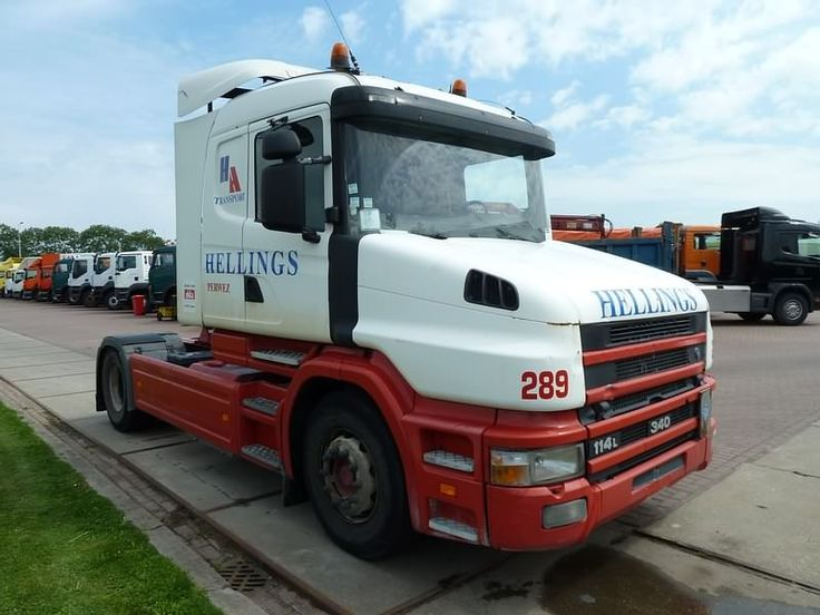 For sale: Used and second hand - Tractor unit SCANIA T 114.340