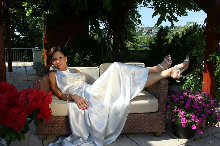 Perfect diva look #MyDay Makeup #Zuzka Makeup  Hair style #sunyfodrasz  Foto #anderdesign  Dress #viwine
