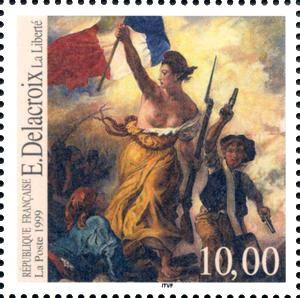 Delacroix - La liberté guidant le peuple    France