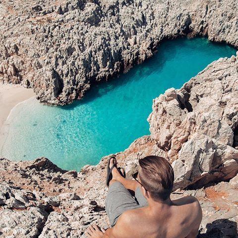 Seitan Limenia beach, CHANIA (Η παραλία του Σειτάν ή του Στέφανου στα Χανιά στο νησί της Κρήτης), CRETE island - GREECE ⠀.⠀   by @your_passage ⠀⠀⠀...