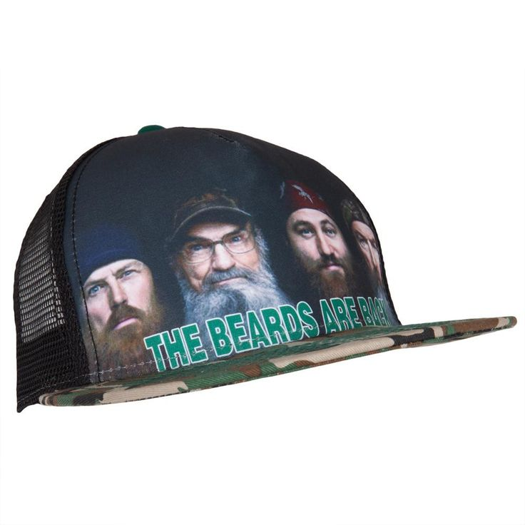 Duck Dynasty - Beards are Back Snapback Cap