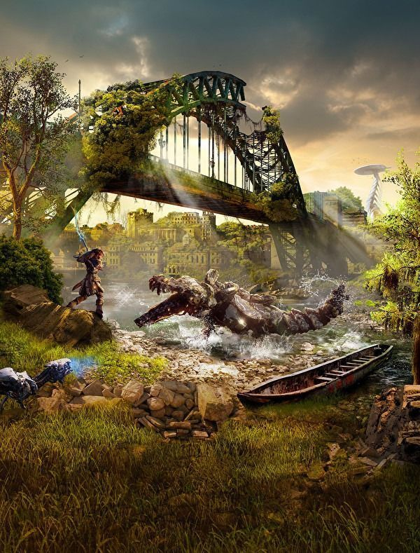 Holy fuck, look what happened to Sydney... I want this to be real not because I hate humanity but because horizon zero Dawn damn it!